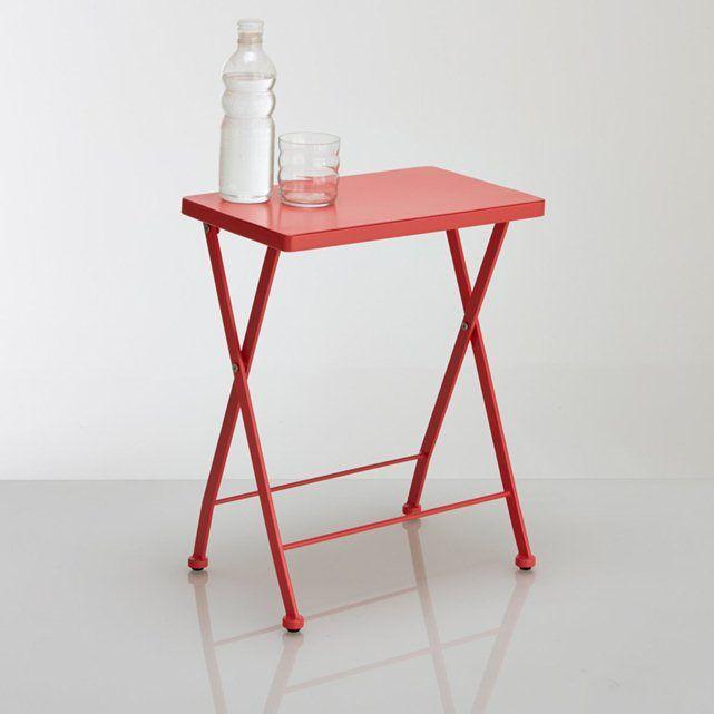 Table chevet métal, Janik