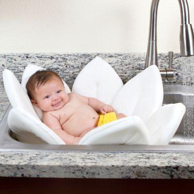 Blooming Bath™ Baby Bath in White - BedBathandBeyond.com