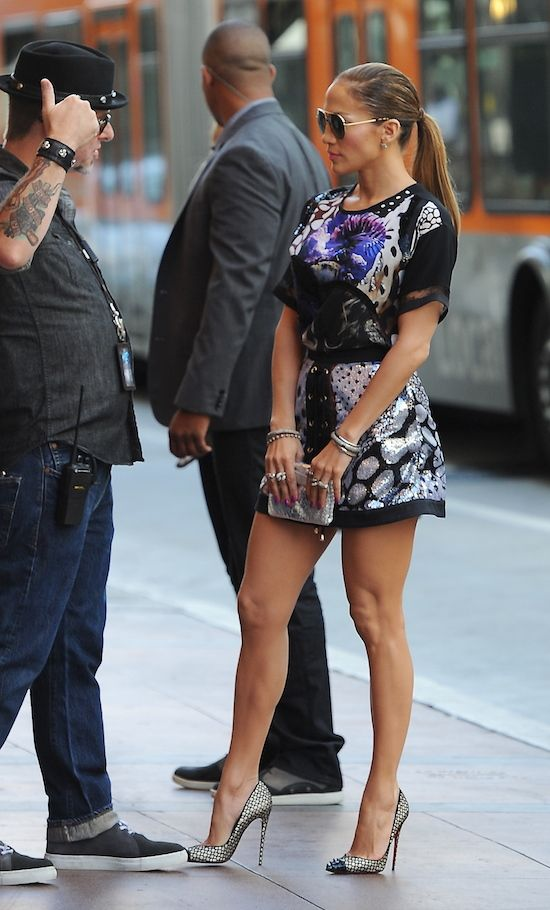 'American Idol' judges arriving at the Hollywood week auditions at the Orpheum Theater Featuring: Jennifer Lopez Where: Los Angeles, California, United States When: 27 Oct 2014 Credit: Cousart/JFXimages/WENN.com