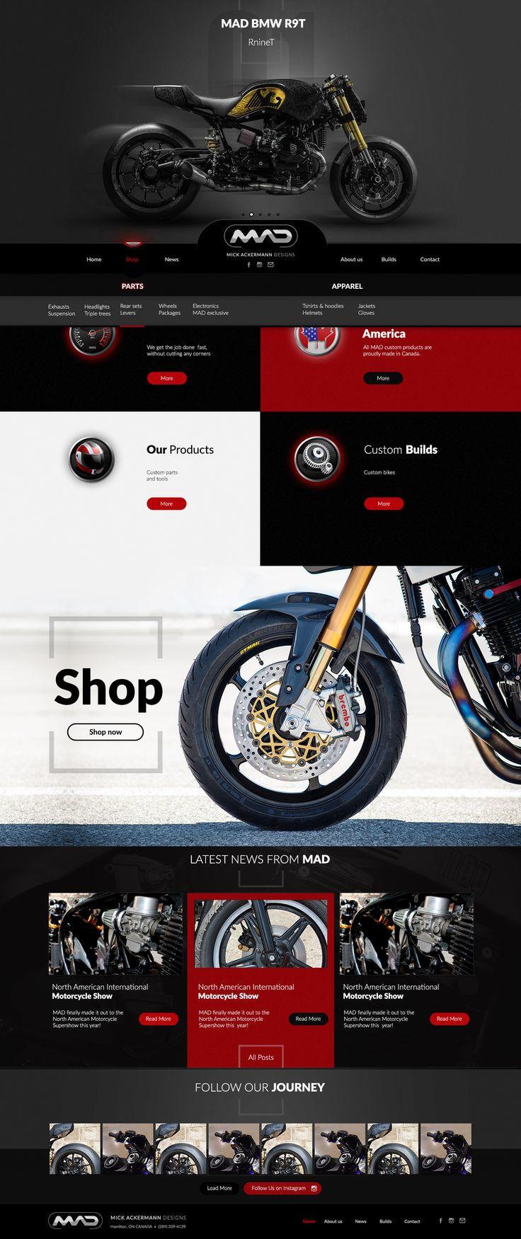 MICK ACKERMANN DESIGNS #website, #wordpress, #design, #motorbike, #motorcycle, #racing