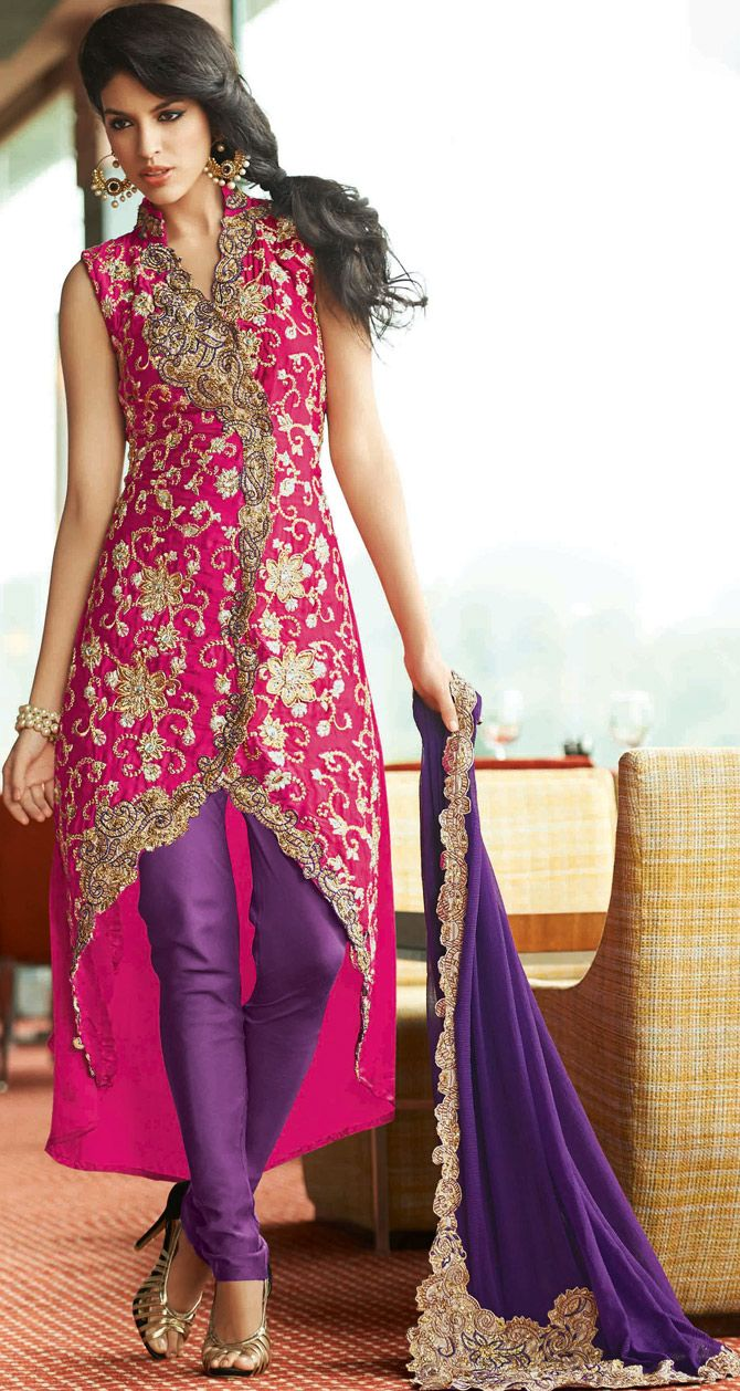 #Pink Designer Made #Salwar #Kameez : @ $142.52