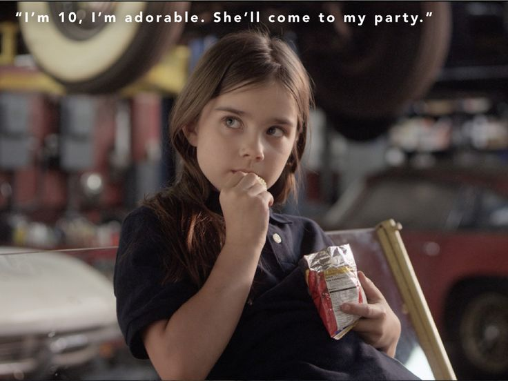 """""""I'm 10. I'm adorable.""""  Yes she is! Check out the beautifully talented Sterling Jerins, from 'World War Z' and 'The Conjuring,' play Annie in 'Butterflies of Bill Baker,' releasing May 8th!"""