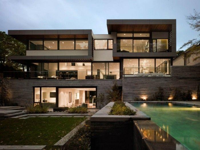 Beliebt Les 25 meilleures idées de la catégorie Maison toit plat sur  EJ11