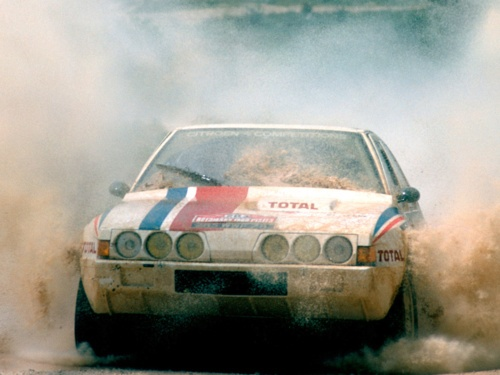 This is the 1986 Citroen BX 4TC Evolution.