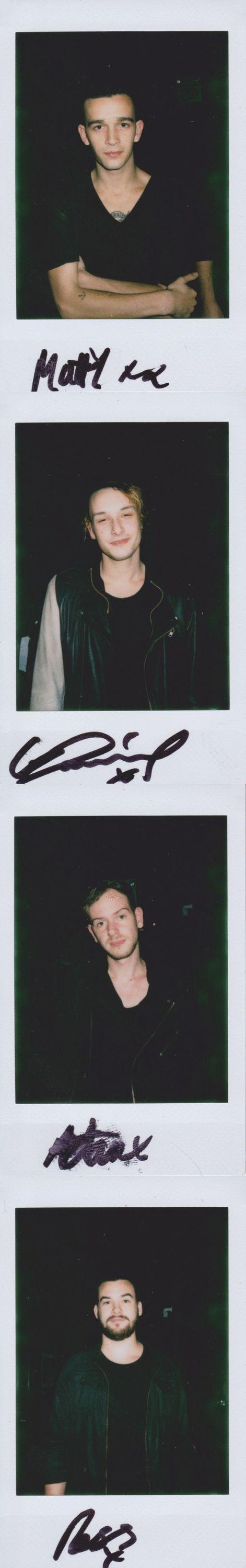 Their autographs :) x