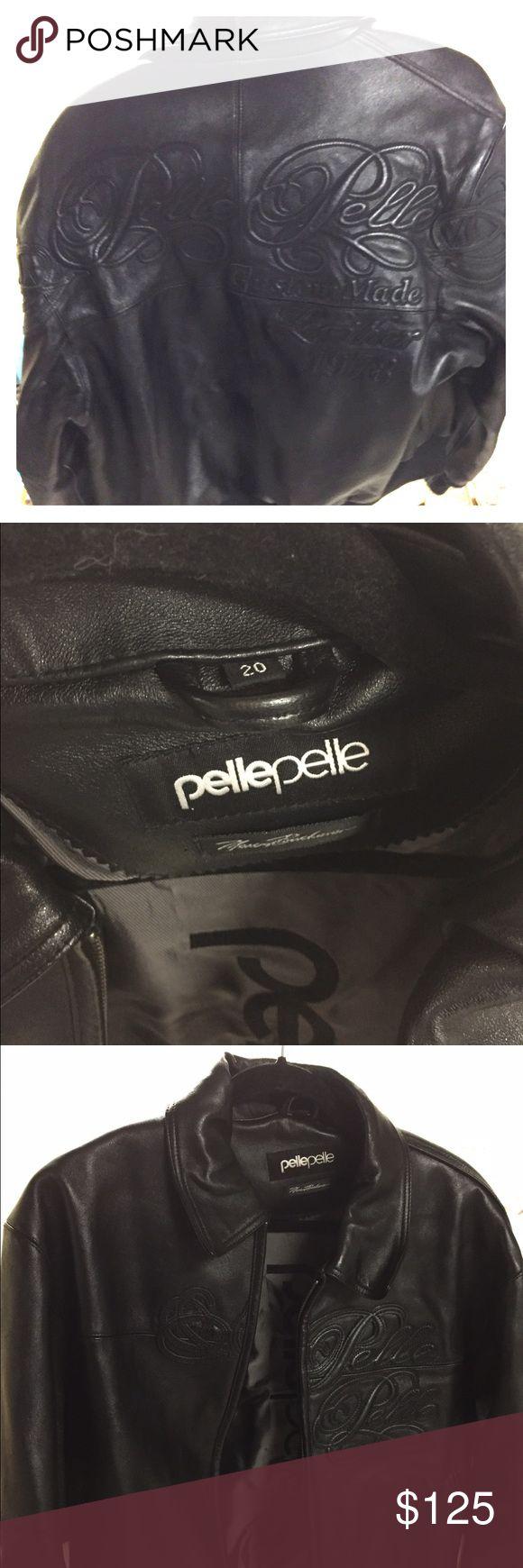 Pelle pelle leather jacket Mint heavy duty pelle pelle heavy duty leather jacket. Size 20 pelle pelle Jackets & Coats Puffers