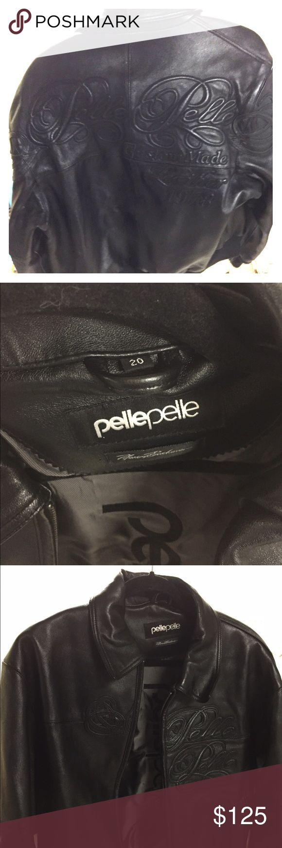 Pelle pelle leather jacket Mint heavy duty pelle pelle heavy duty leather jacket. Size 20 pelle pelle Jackets & Coats Puffers