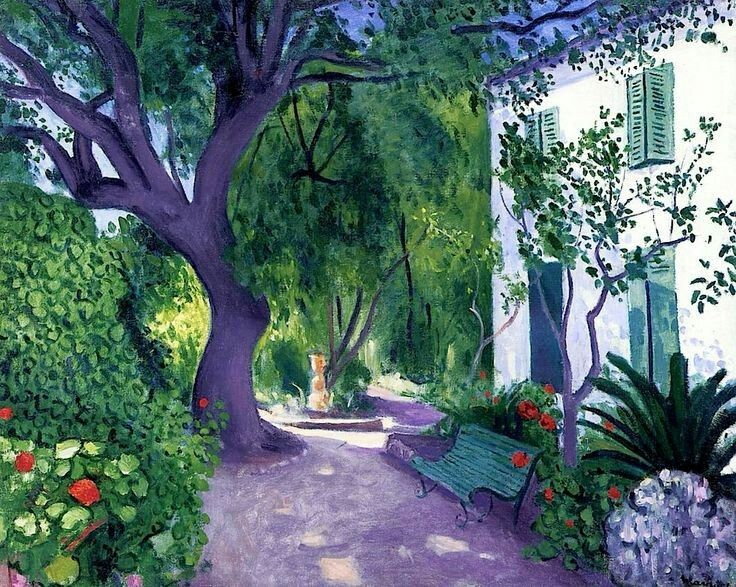Albert Marquet - The Large Olive Tree 1943