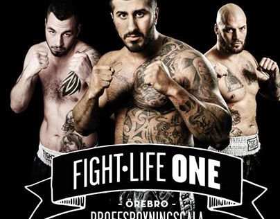 "Check out new work on my @Behance portfolio: ""Fight Life One"" http://on.be.net/1LYs3sj"