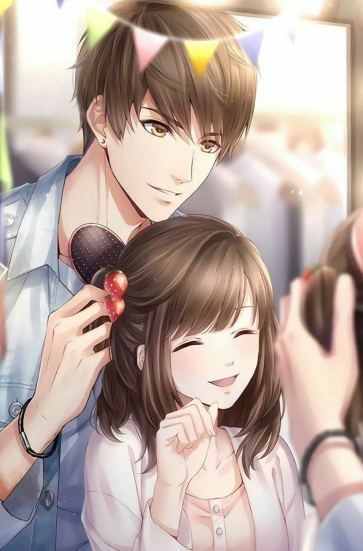 Pin On Anime Couple Cute anime couple wallpapers for