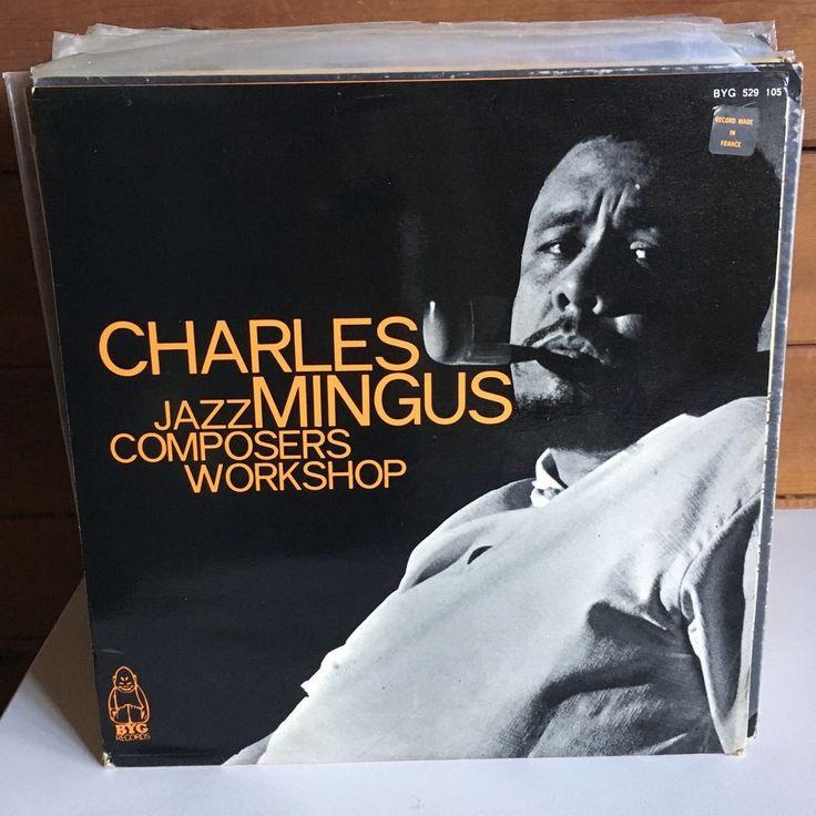 CHARLES MINGUS Jazz Composers Workshop LP BYG 529-105 French Pressing VG++ #PostBebop