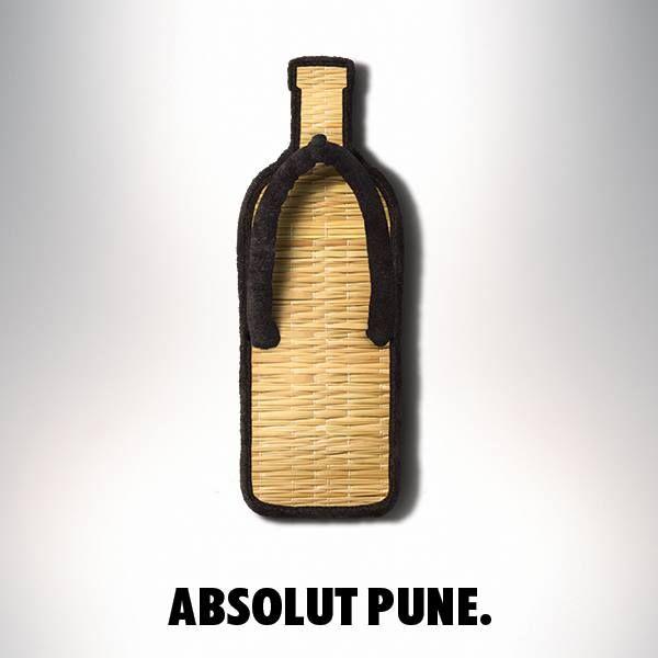 Absolut Vodka Ad - Absolut Pune