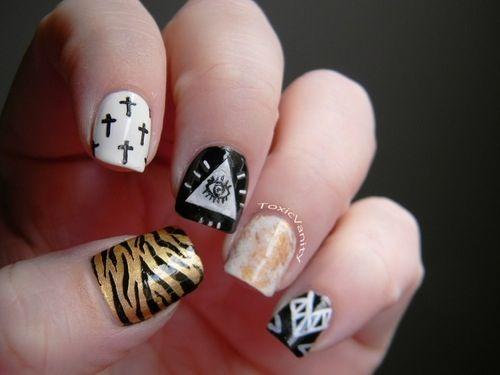 hipster nails pinterest - photo #15
