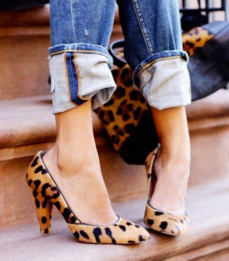 Секреты стиля и красоты: Леопардовые туфли: c чем носить?