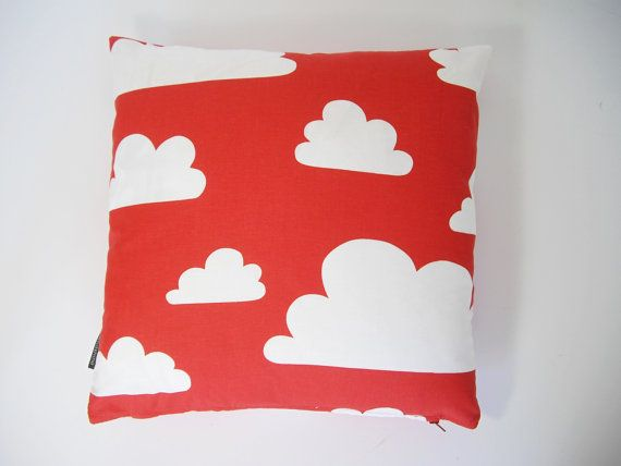 Scandinavian Farg & Form fabric Kids cushion cover  by Andshine