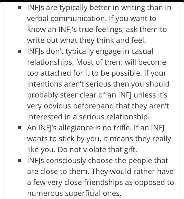 "Infj ""Do not violate that gift"""