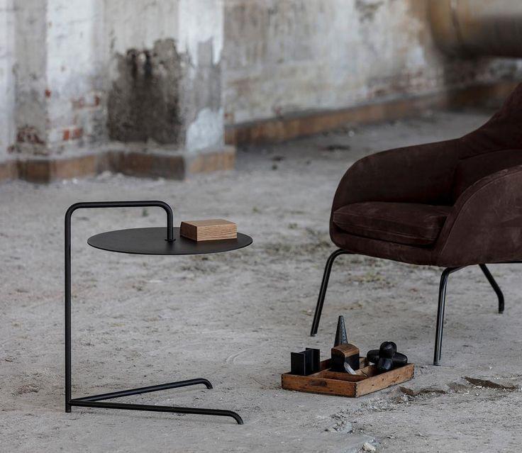 Cymbal side table i black #sidetable #coffeetable #sofabord #bord #table #interiordesign #nordic #sidebord