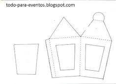 Resultado de imagen para patrones de venados en carton