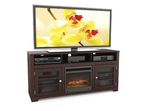 20 best electric fireplace tv stand images on pinterest for Best tv stands review