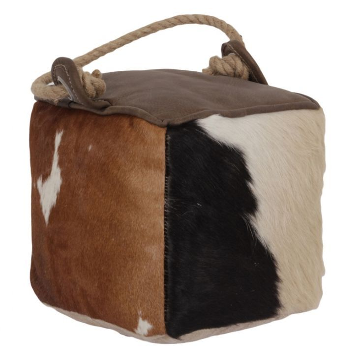 Cowhide Door Stop Cute Home Decor Target Home Decor Quirky