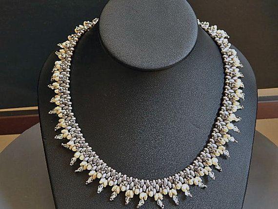 Glory Kette umwickelt von Ravit auf Etsy | Perlen ...
