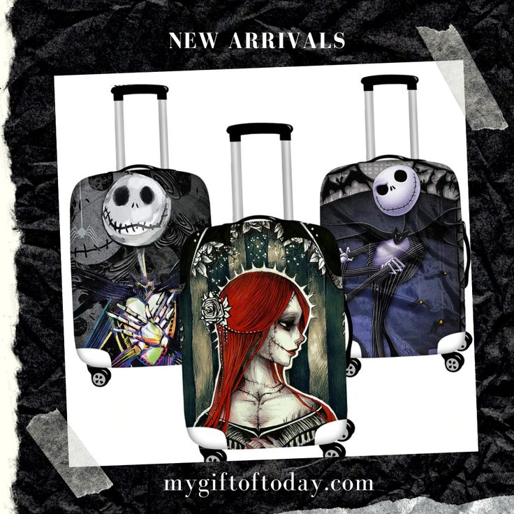 Nightmare Before Christmas Dust Proof Baggage & Luggage
