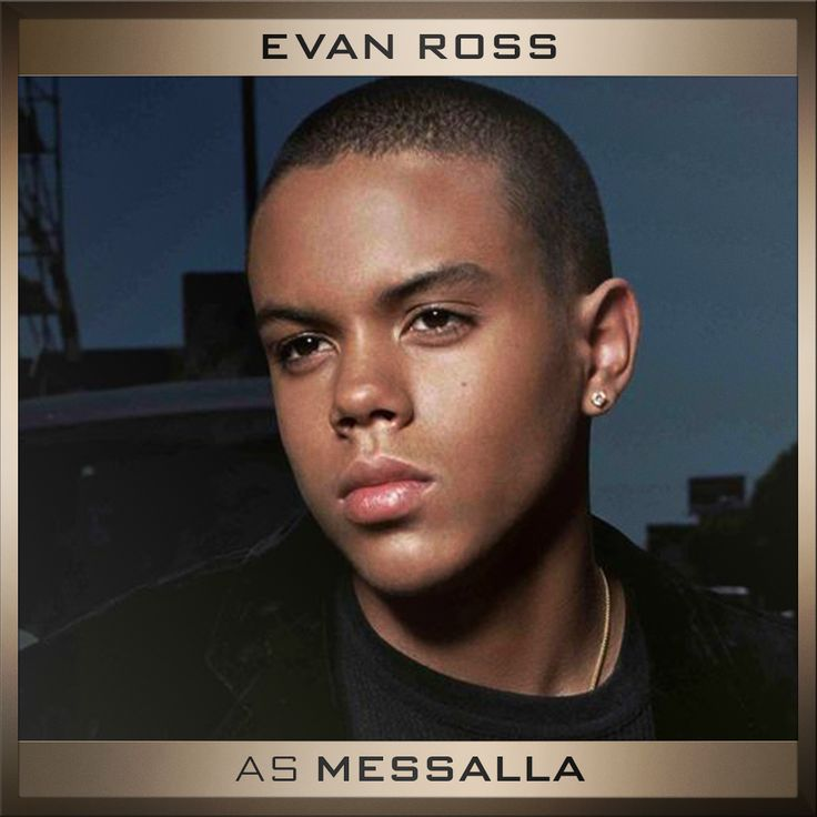 It's official! Please welcome Evan Ross as 'Messalla' to the cast of The Hunger Games: Mockingjay Parts 1&2.