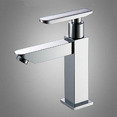 Bathroom Sink Chrome Finish Single Handle Basin Faucet Water Tap New Cold Water http://www.tapso.co.uk/bathroom-sink-chrome-finish-single-handle-basin-faucet-water-tap-new-cold-water-p-956.html