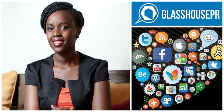 Mary Njoki, founder of Glass House PR (Kenya)