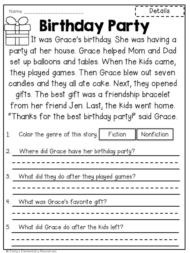 Read & Respond Close Reading Activities