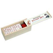 Traditional Alphabet Stamp Set