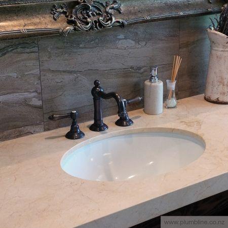 Regal 3 Hole Basin Mixer - Regal / Classic - Bathroom Tapware - Bathroom