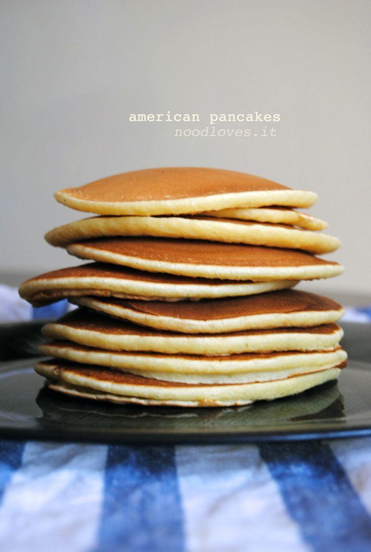 American Pancakes! Potete trovare la ricetta cliccando qui (http://noodloves.it/recipe/american-pancakes/)