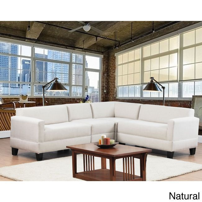 Attractive Makenzie Four Piece Sectional   Overstock™ Shopping   Big Discounts On  Sectional Sofas Amazing Pictures