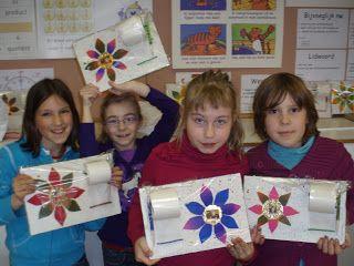 derde leerjaar: Knutselwerkjes voor moederdag