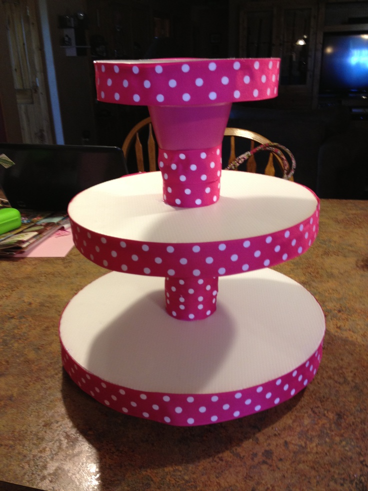 My Minnie Mouse Cake And Cupcake Stand Kids Birthday