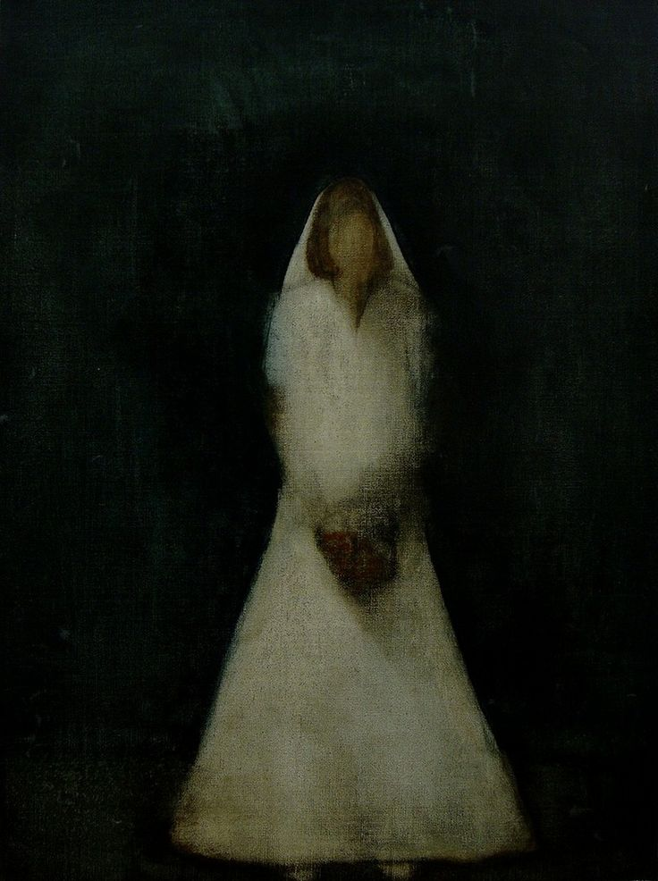 "Apostolis Itskoudis, ""Bride"" (Νύφη), acrylics on canvas, 45Χ60,5 cm, 2014."