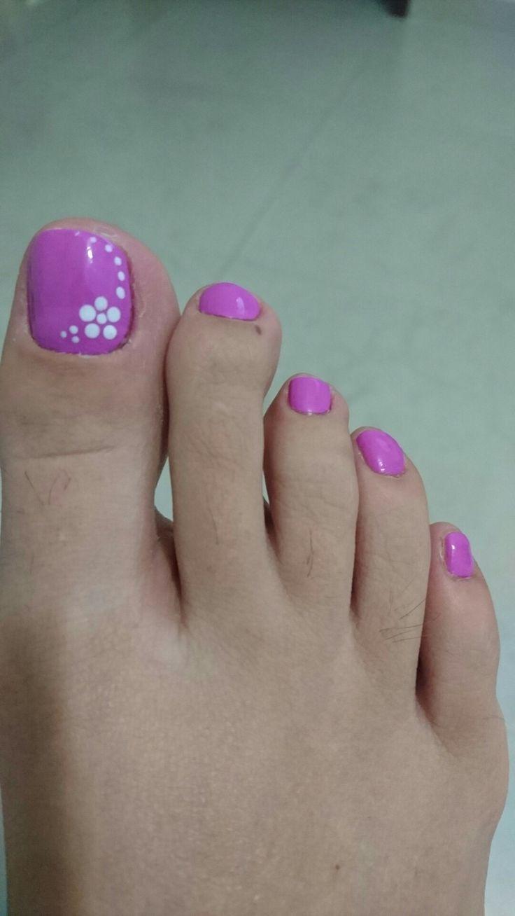 Uñas pies decoración