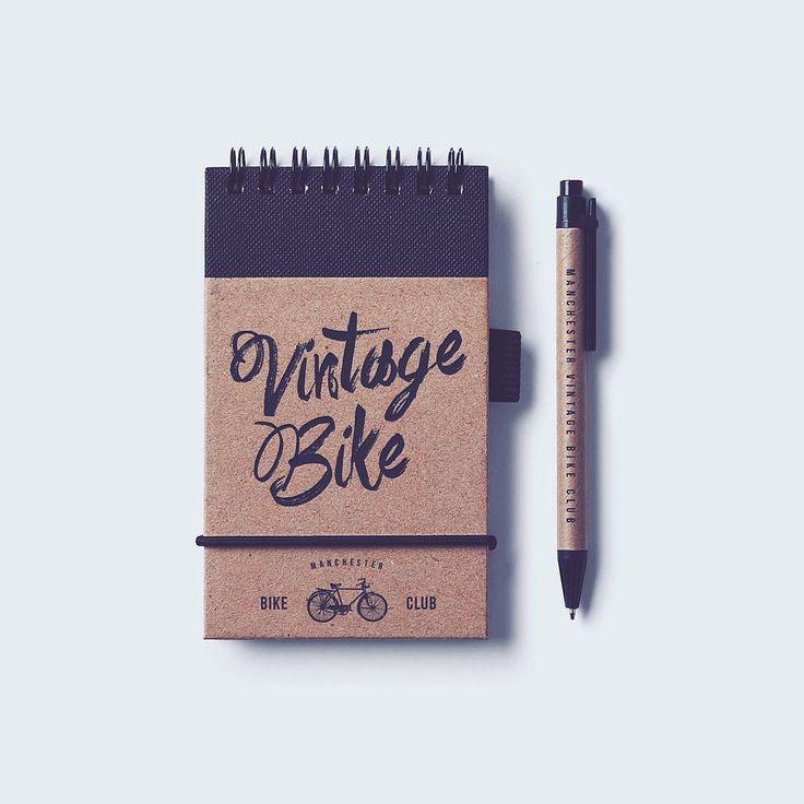 Vintage design  #vintage #vintagestyle #logo #vintagedesign #logotype #font #bike #bicycle #log #mockup #branding #simple #simplicity #design #graphicdesign #hireme #vscodaily #object #minimal #minimalism #stuff #stationery #manchester