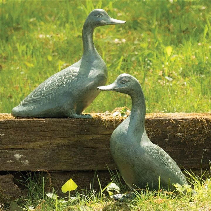 Lucky Ducks Garden Figurines
