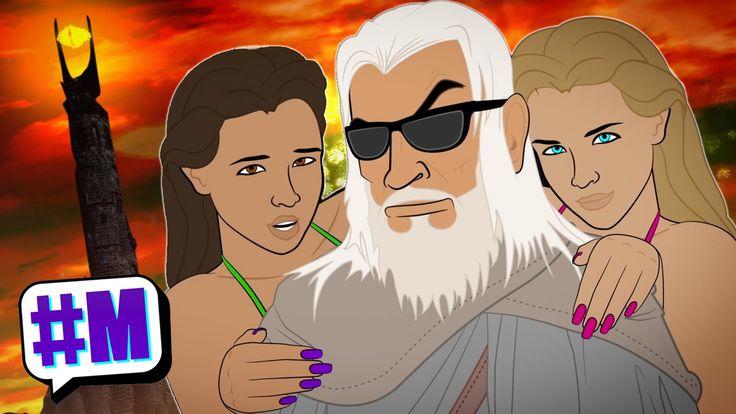 Sean Connery as Gandalf (WaW EP2) | LeeDanielsART & MASHED