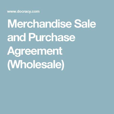 25+ melhores ideias de Purchase agreement no Pinterest - sales agreement