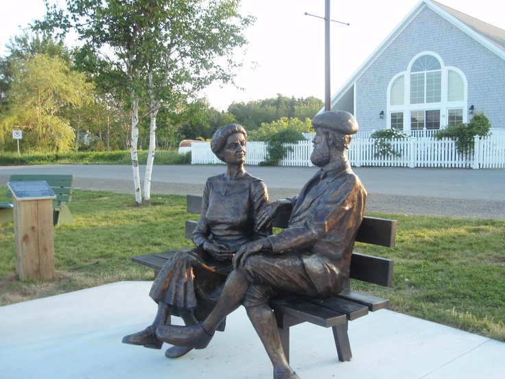 Mabel & Alexander Graham Bell, Baddeck