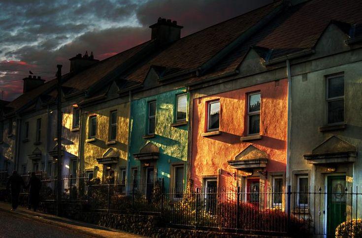 Howth Houses. Howth Village, Dublin