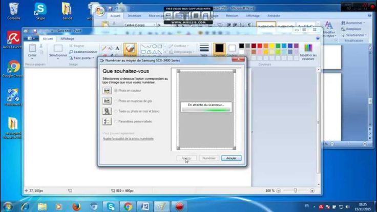 comment scanner un document sans le logiciel de l'imprimante