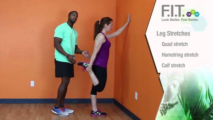 F.I.T. Exercises - Leg Stretches  http://myforeverfit.flp.com