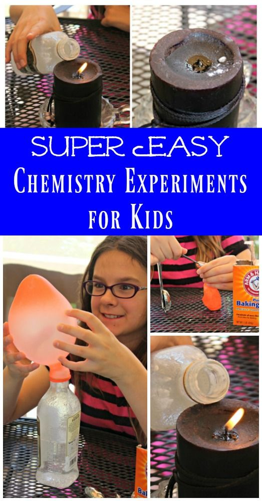 Easy Science Experiments for Kids | Chemistry for elementary & middle school | homeschool science