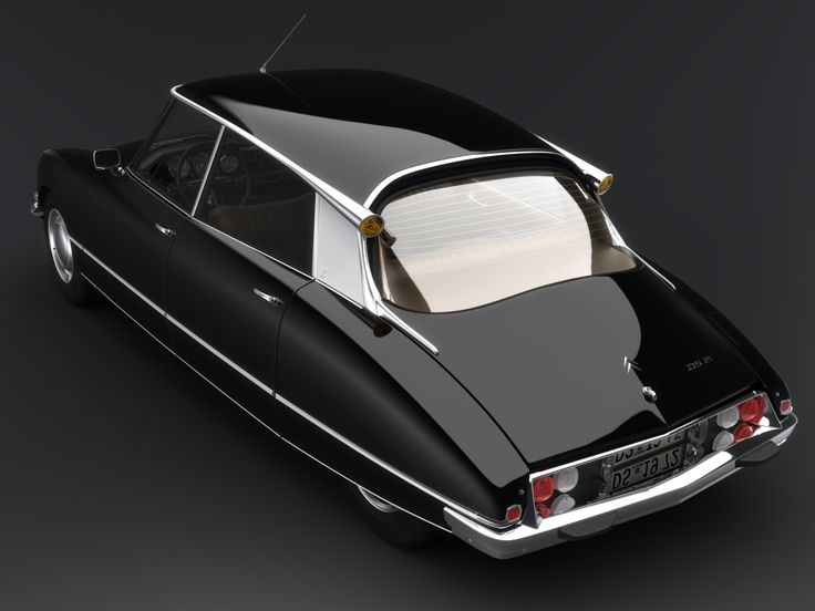 Citroen DS.   Introduced in 1955, the DS pushed the envelope in every aspect of car design and it still looks futuristic today.