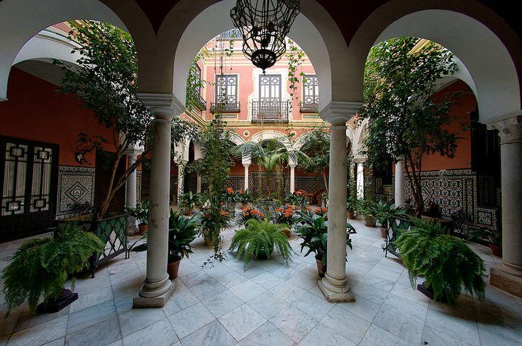 1000 images about patios sevillanos on pinterest - Casas en santa clara sevilla ...