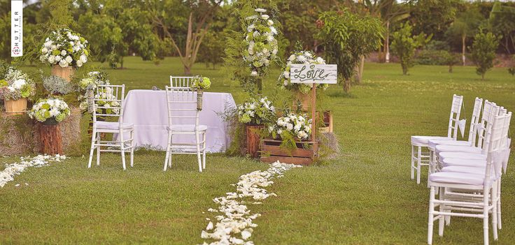 Decoracion Bodas Al Aire Libre ~ ideas about Decoraciones De Matrimonios on Pinterest  Marriage, Bodas